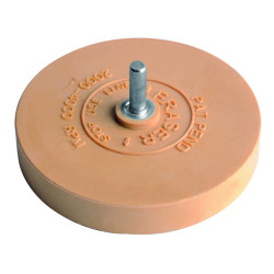 SCRUB DISC FOR RESIDUAL ADHESIVE