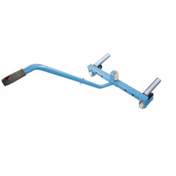 TROLLEY WHEEL SUPPORT FOR TRUCK TIRES